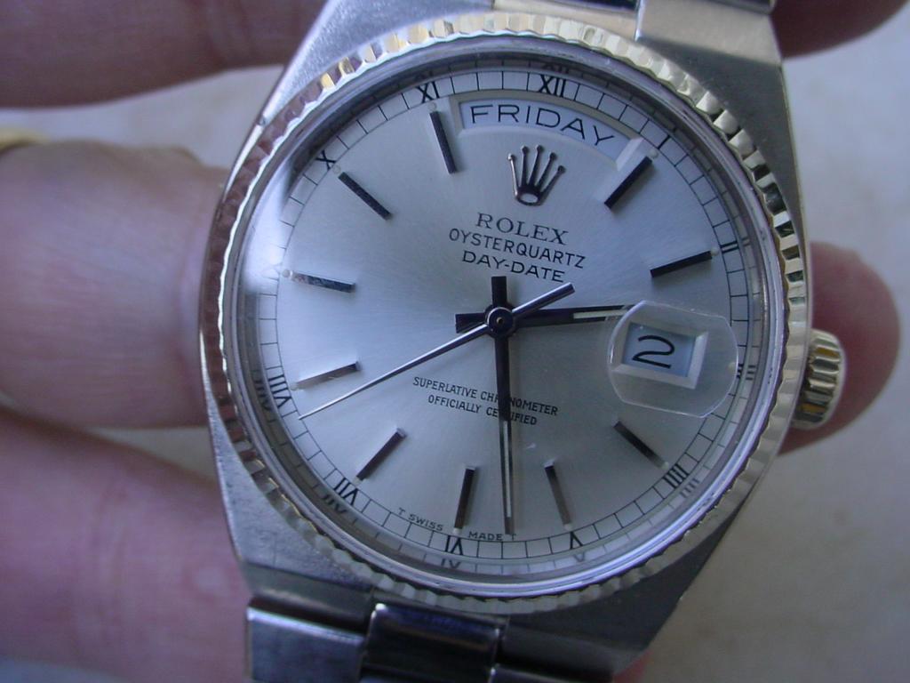 Rolex Day Date Osterquartz 19019