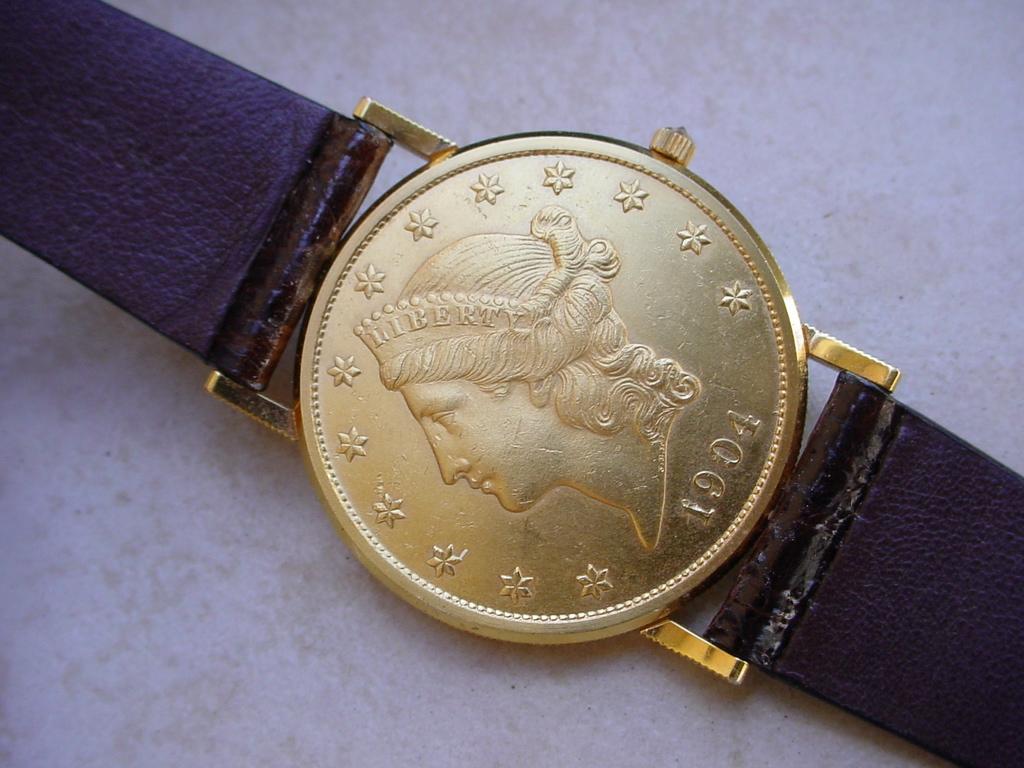 6d2949e3cfc8d Corum  20 U.S. Gold Coin Watch